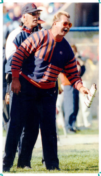 Former Bears coach Mike Ditka was known for being a bit prickly at times.