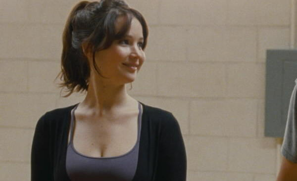 "Jennifer Lawrence stars with Bradley Cooper in ""Silver Linings Playbook."""