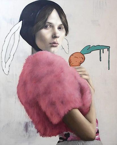 "Luis Cornejo's ""Melting Carrot II."""