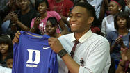 Video: Simeon's Jabari Parker chooses Duke