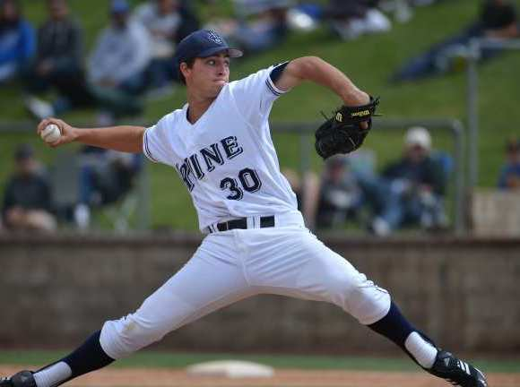 UC Irvine pitcher Andrew Thurman is a returning first-team All-Big West Conference selection.