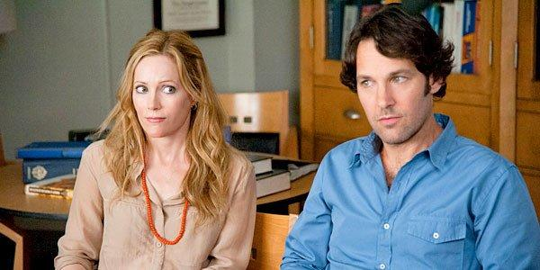 "Pete (Paul Rudd)and Debbie (Leslie Mann) in ""This Is 40."""