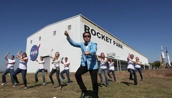 "'NASA Johnson Style,"" a parody of South Korean pop star Psy's ""Gangnam Style,"" received high praise from NASA Administrator Charles Bolden."
