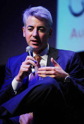 Bill Ackman, head of Pershing Square Capital Management, said he spent a year researching Herbalife's operations. Above, Ackman speaks at the New York Film Festival in 2010.