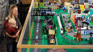 For Lego model of historic Ellicott City, builders hit the bricks