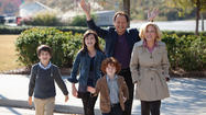 "Bailee Madison, center, in a scene from ""Parental Guidance,"" alongside, from left, Joshua Rush, Kyle Harrison Breitkopf, Billy Crystal and Bette Midler."