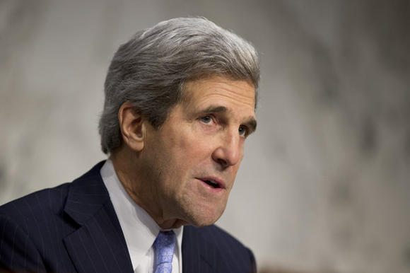 Senate Foreign Relations Committee Chairman John Kerry (D-Mass.)., whom President Obama will nominate as the next secretary of State.