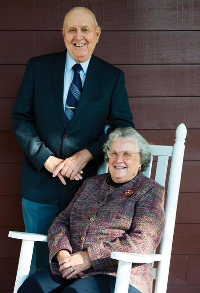 Robert and Pauline Stevens
