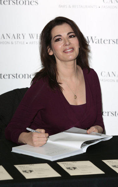 Food from British TV chefs like Nigella Lawson were looked at in a study comparing TV dinners to the chefs' food.