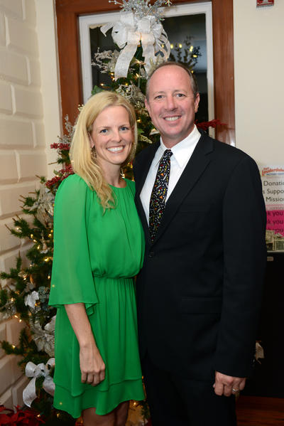 "Jeannie Hudson, left, and Steve Hudson at the opening of the ""H. Wayne Huizenga Business Center at the Fort Lauderdale Historical Society"" exhibit. The reception was hosted by the Fort Lauderdale Historical Society and took place Dec. 5 at the New River Inn."