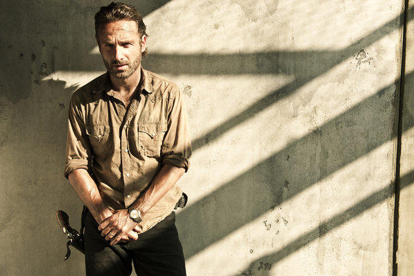 "Andrew Lincoln stars as Rick Grimes in ""The Walking Dead."" AMC announced Friday that showrunner Glen Mazzara will be leaving the hit show after its third season."