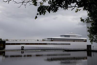 This is Venus, the yacht that was being built for Steve Jobs.
