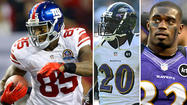 Giants TE Martellus Bennett vs. Ravens S Ed Reed and James Ihedigbo