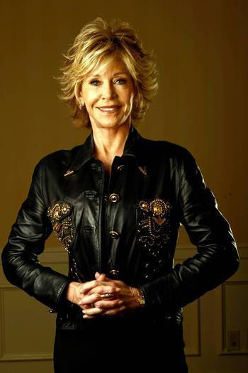 Jane Fonda has a new DVD out that tailors yoga routines for baby boomers looking to stay fit and flexible as they age.