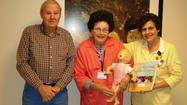 The Jefferson Memorial Hospital Auxiliary recently purchased textbooks and instructor tool kits for the STABLE classes at Jefferson Memorial Hospital in Ranson, W.Va. STABLE stands for Sugar and Safe Care, Temperature, Airway, Blood Pressure, Lab Work, Emotional Support. The program, taught by Dr. Robert Jones, is designed to provide information about neonatal stabilization for maternal and infant health care providers.