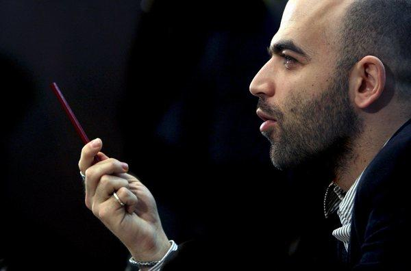 Italian author and journalist Roberto Saviano contributed to Libration's list of author recommendations.