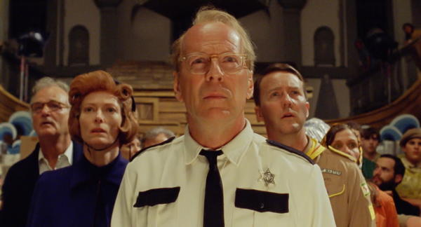 The entire cast's a keeper, but Willis' entry into Wes Anderson world is particularly swell, with the actor's traditional quietness effectively serving a character who's wounded and uninspired but still awake enough to lend a hand and step up when needed.