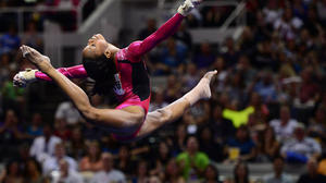 Gabby Douglas is named AP female athlete of 2012