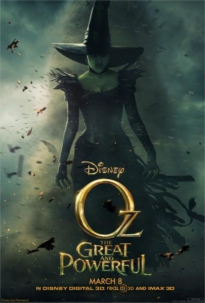 "Hopefully this won't be (and doesn't look like) a big-budget disappointment on the scale of ""Alice in Wonderland."" I have more faith in Sam Raimi, as well as Michelle Williams, Mila Kunis, James Franco and Rachel Weisz.--Matt Pais"