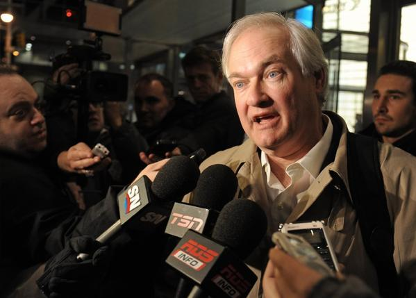 Members of the NHL Players' Assn. have voted to authorize their executive board to dissolve the union. Above, Donald Fehr, the union's executive director.