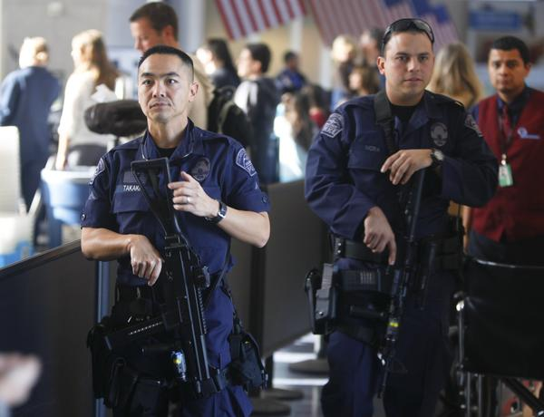 The LAPD is stepping up its presence at Los Angeles International Airport for the holiday rush.