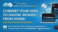 "The movie industry took another halting step into the digital era this week when CinemaNow, an online movie rental service owned by BestBuy, <a href=""http://www.cinemanow.com/disc_to_digital"">rolled out</a> a new service letting customers make digital copies of their DVDs. Kinda sorta."