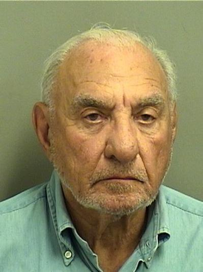 Melvyn Irwin Weiss, 77, after his arrest on Dec. 20, 2012. Weiss, a former New York attorney who was disbarred after pleading guilty to conspiring to pay secret kickbacks to plaintiffs in 2008, was clocked doing 90 mph on Interstate 95 in Boynton Beach late on Dec. 19, 2012.
