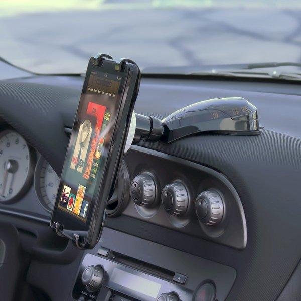 The ST-TP01 Car Holder Mount will hold your devices and keep the clutter off the car seat.