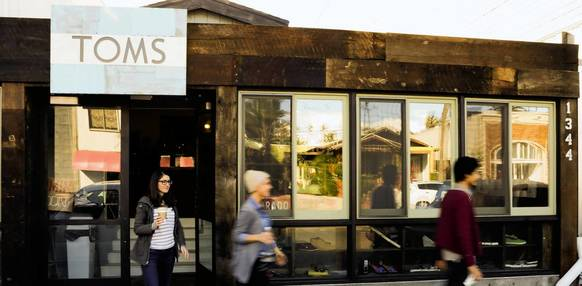 Toms Shoes has opened its first retail store and community space on Abbot Kinney in Venice.