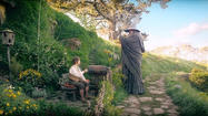 "Bilbo Baggins, the head hobbit in J.R.R. Tolkien's 1937 novel, may be diminutive in stature, but the marketing blitz associated with this month's film treatment of his adventures is as tall as the starting lineup of the <a href=""http://chicagotribune.com/sports/basketball/bulls"">Chicago Bulls</a>: a Middle-earthsmartphone from Microsoft, ""Hobbit""-related block sets from Legos, video games for Xbox 360 and PlayStation 3 and even a ""Hobbit""-inspired menu at your neighborhood Denny's."