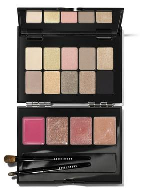 Bobbi Brown lip & eye palette, $75 (or $30 for a smaller version) at Nordstrom at The Grove or www.bobbibrowncosmetics.com.
