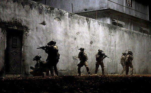 "A scene from ""Zero Dark Thirty."""