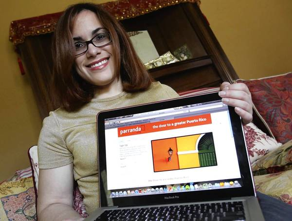 Laurita Tellado is a Puerto Rican blogger looking forward to the launch of Parranda.org's mapping project that will track Puerto Ricans across the country, including Central Florida's large Puerto Rican community. She holds the home page of the project.