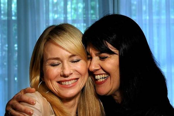 "Actress Naomi Watts, left, portrays Maria Belon in ""The Impossible."""