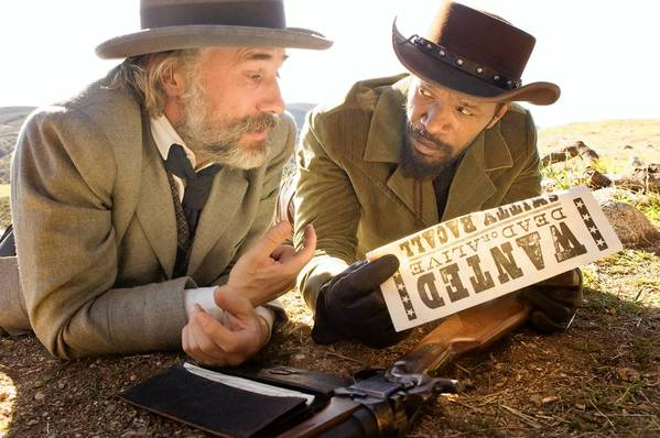 Christoph Waltz and Jamie Foxx star in 'Django Unchained,' in theaters Christmas Day.