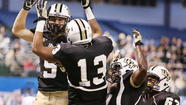 ST. PETERSBURG — The blitz came from the right side, squarely in UCF quarterback Blake Bortles' vision as the clock wound down in the first half.