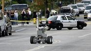 Photo Gallery: Suspicious package detonated at Temple Sinai of Glendale by bomb squad