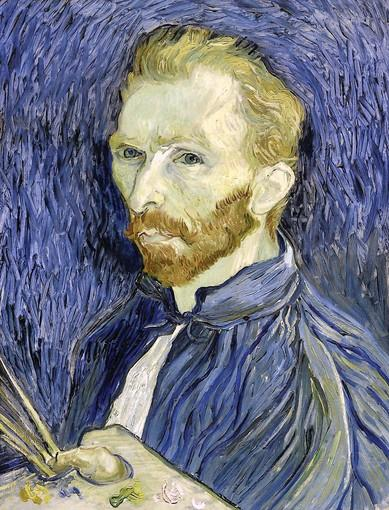 Self-Portrait, 1889, by Vincent van Gogh