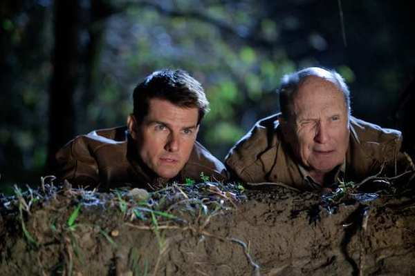 "Tom Cruise as Reacher and Robert Duvall as Cash in ""Jack Reacher,"" from Paramount Pictures and Skydance Productions."
