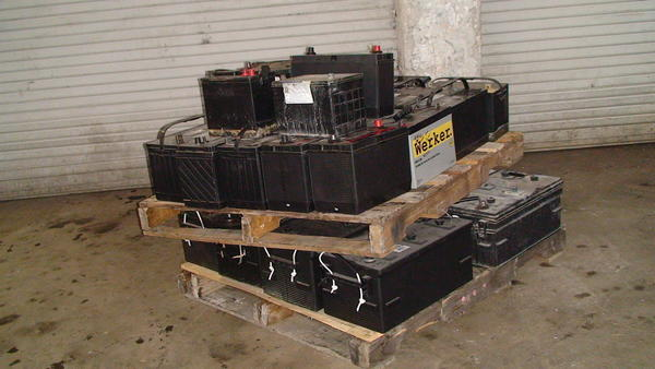 Stolen truck batteries are the latest hot items turning up at scrap yards