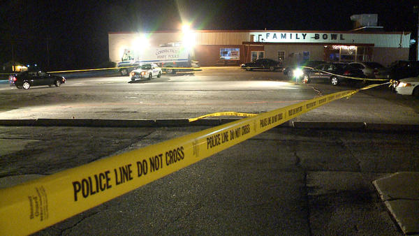 A man was found mortally wounded at Family Bowl on Boston Post Road in Waterford Friday. Police are investigating.