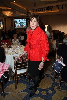 Betsy Bloomingdale attends the Children's Institute benefit.