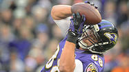 Three questions with Ravens tight end Dennis Pitta