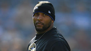 Ray Lewis won't play Sunday against New York Giants