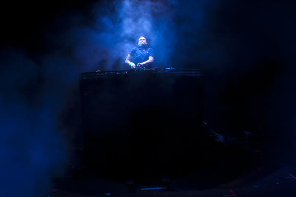 Ryan Raddon, better known as DJ Kaskade, at the Coachella Valley Music and Arts Festival in April 2012.