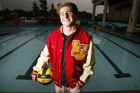 La Canada High's Chase Borisoff is the 2012 All-Area Boys' Water Polo Player of the Year.