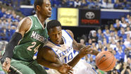 LEXINGTON, Ky. (AP) - Ryan Harrow scored a career-high 23 points and Kentucky used a 21-5 second-half run to pull away for an 82-54 victory over Marshall on Saturday.