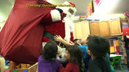 Christmas came a little early for some students of the lower Kuskokwim School District.