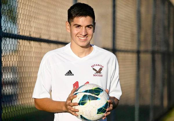 Estancia High defender Cristian Montillo is the Daily Pilot High School Athlete of the Week.