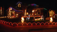 Bright dazzling holiday lights have been illuminating neighborhoods for years, but for some Valley residents lights have become a form of Christmas masterpieces, with their creation of jaw-dropping, one-of-a-kind holiday light displays.